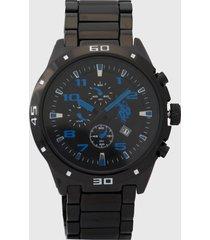 reloj negro-azul us polo assn