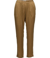 pants w. elastic casual byxor brun coster copenhagen