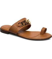 sandals 4140 shoes summer shoes flat sandals brun billi bi
