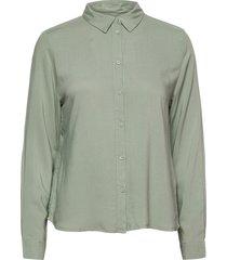 byidra shirt - långärmad skjorta grön b.young