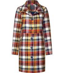 checkered wool jacket 201375