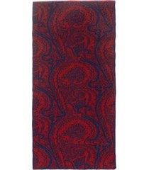 etro wool knit scarf