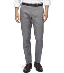 men's bonobos weekday warrior athletic stretch dress pants, size 34 x 32 - grey