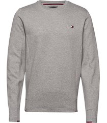 2 mb tech sweatshirt sweat-shirt tröja grå tommy hilfiger