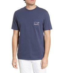 men's vineyard vines whale pocket t-shirt
