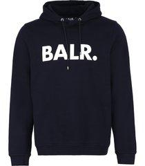 balr. logo print hoodie