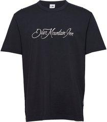 chris tee 3438 t-shirts short-sleeved blå nn07