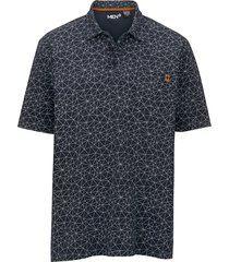 poloshirt men plus marine::grijs