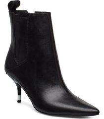 aubrey shoes boots ankle boots ankle boots with heel svart calvin klein