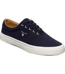 sundale low lace shoes låga sneakers blå gant