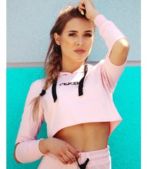bluza pink cut