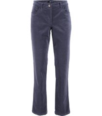 pantaloni in velluto (blu) - bpc bonprix collection