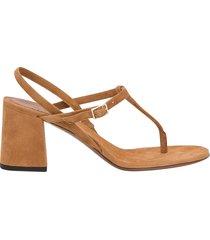 lautre chose suede sandals