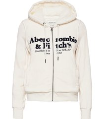 anf womens sweatshirts hoodie trui wit abercrombie & fitch