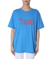 alberta ferretti oversized t-shirt