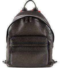 fango leather & shearling backpack