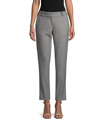 gusta stretch wool ankle pants