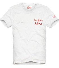boy embroidered t-shirt portofino habitué