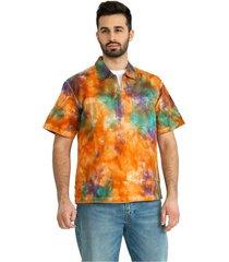 drops woven shirt