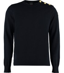 paul & shark long sleeve crew-neck sweater