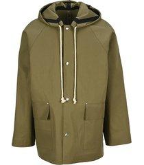 jil sander hooded jacket