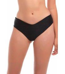 bikini tanga alto negro samia