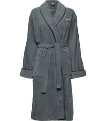 organic premium robe morgonrock badrock grå gant