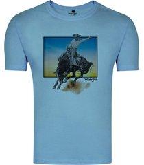 tshirt masculina wrangler urbano - wm8057 - kanui