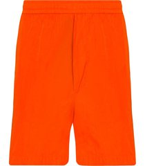 moncler bermuda swim shorts - orange