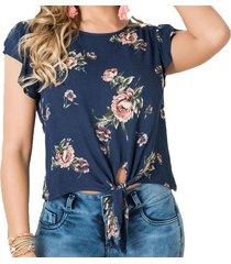 blusa ada azul para mujer croydon