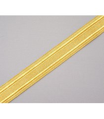 "gold military braid. pilot galon. uniform. army, navy. vestment. 5 yards,1"" wide"
