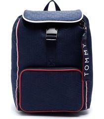 mochila backpack azul tommy hilfiger