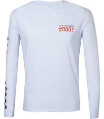 camiseta john john racers masculina (branco, gg)