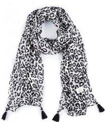 pañuelo leopard negro humana