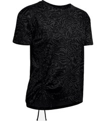 remera moda under armour unstoppable mujer negro
