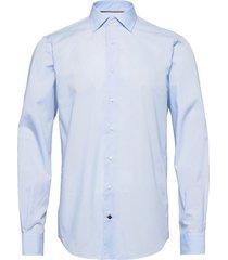 core poplin classic shirt skjorta business blå tommy hilfiger tailored