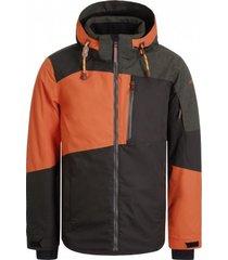 icepeak ski jas men canova dark orange-maat