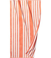 """hotel collection resort cabana cotton 40"""" x 70"""" beach towel, created for macy's bedding"""