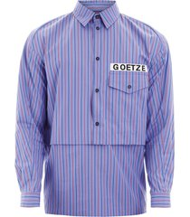 goetze layered shirt