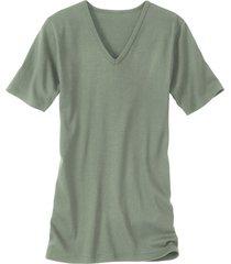 dubbelpak v-shirts, olijfgroen 6