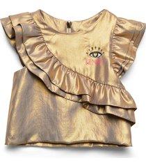 jeraldine blouse tuniek goud kenzo