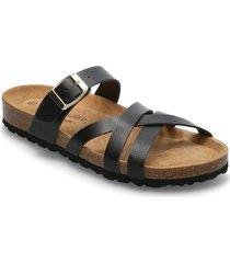 bala shoes summer shoes flat sandals svart re:designed est 2003
