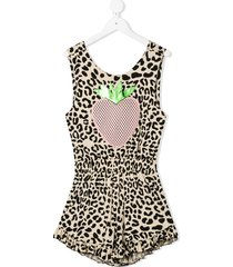wauw capow by bangbang columbia limited leopard print jumpsuit -