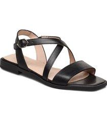 a-1406 shoes summer shoes flat sandals svart wonders