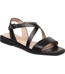 a-1406 shoes summer shoes flat sandals svart wonders