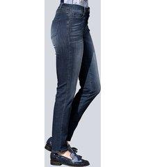 formande jeans alba moda mörkblå