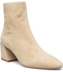 furla block shoes boots ankle boots ankle boot - heel beige furla