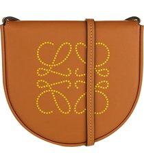 loewe loewe logo print mini shoulder bag