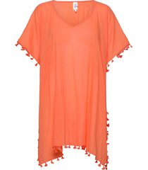 amnesia kaftan beach wear orange seafolly