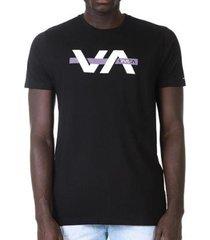 camiseta rvca random box masculina